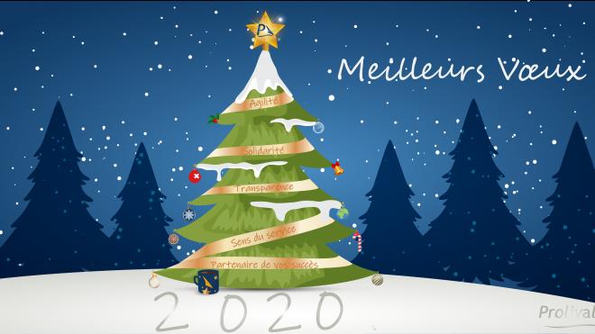 Meilleurs voeux 2020 Prolival