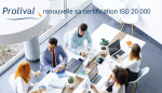 Prolival renouvelle sa certification ISO 20 000